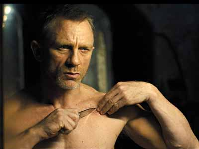 Bond's aging body