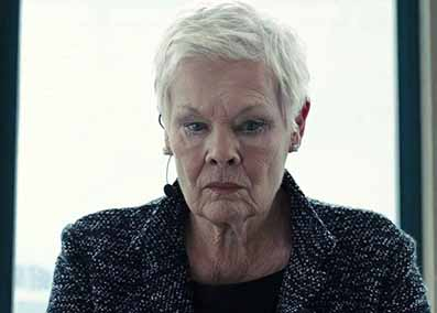 Judi Dench as M