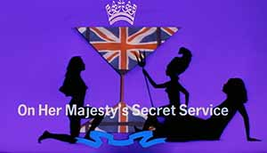 Title frame for On Her Majesty's Secret Service