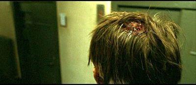 Hunger. PIRA prisoner Davey Gillen (Brian Milligan) receives a beating.