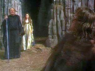 Prospero, Miranda, and Caliban
