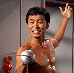 To Be Takei: George as Mr. Sulu in Star Trek