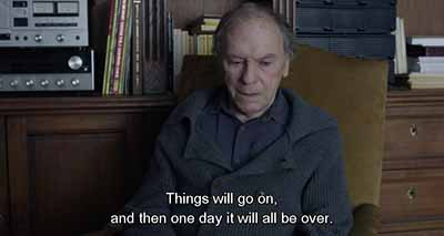 """Things will go on . . ."": Amour"