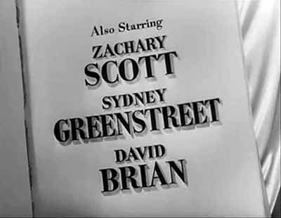 Title cards from Flamingo Road