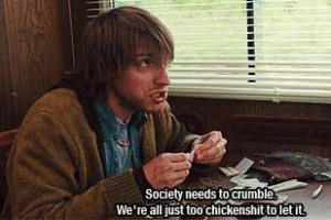 Marty (Fran Kranz) in The Cabin in the Woods