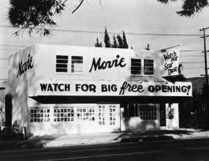 Silent Movie Theatre, Los Angeles, 1940s