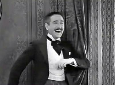 Adolphe Menjou in A Woman of Paris. Screenshot