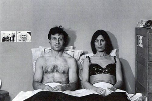 Ivan and Yvonne Rainer in Kristina Talking Pictures (1976) (screenshot)