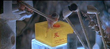 Genetic engineering, Blade Runner style. Screenshot