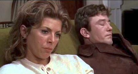 Billie Whitelaw and Albert Finney in Charlie Bubbles