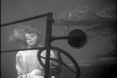 Shelley Winters in one of the film's most famous scenes