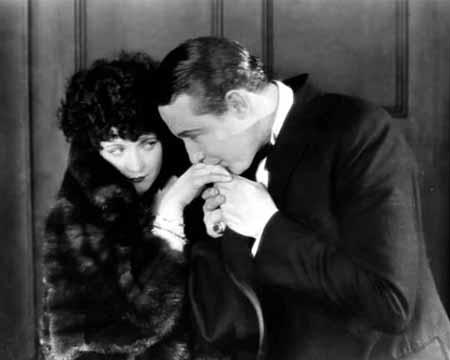 Mizzi (Marie Prevost) and Dr. Braun (Monte Blue)
