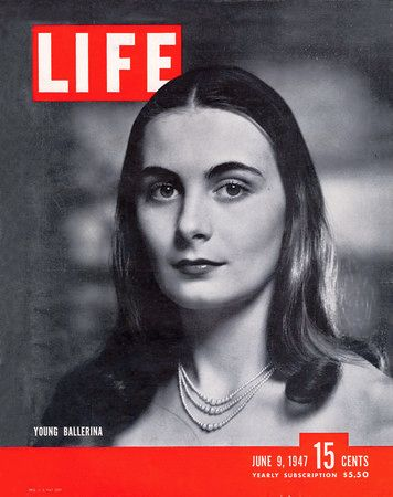 Ricki Soma on the cover of Life magazine, June 9, 1947