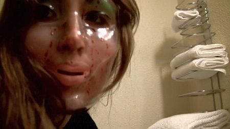 """A shot from the """"Second Honeymoon"""" segment of V/H/S"""