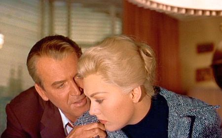 Vertigo: Stewart and Kim Novak