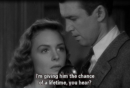 "It's a Wonderful Life: ""The chance of a lifetime."""
