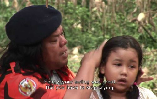 """""""Febby, your acting was great. But you have to stop crying."""""""