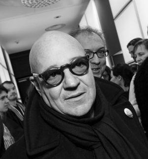 Gianfranco Rosi. Photo courtesy of the Berlin Film Festival.