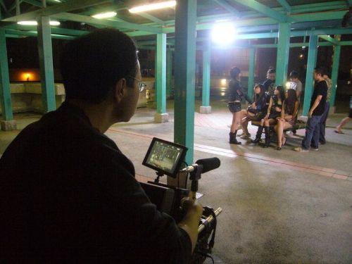 Cheung shooting his fictional drama, <em>Crimson Jade</em> (2010).