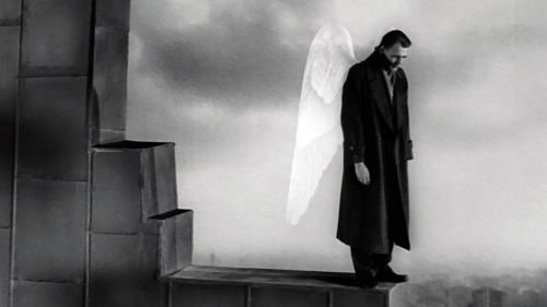 Bruno Ganz (Damiel) in Wings of Desire (1987)