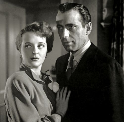 Mary Astor and Humphrey Bogart: The Maltese Falcon