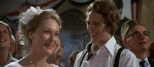"""Ordinary people"": Meryl Streep and Christopher Walken"