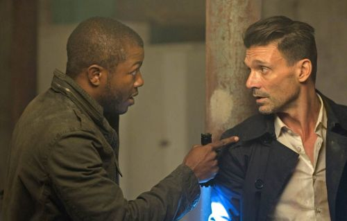 Dante Bishop (Edwin Hodge) and Leo Barnes