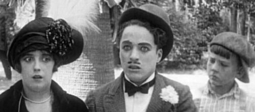 Mabel Normand and Charlie in Tillie's Punctured Romance