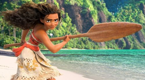 """""""Moana defies her people's ancient taboo..."""""""