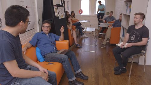 Staff meeting at Citizen Lab