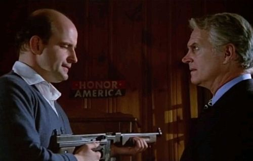 """Honor America"": Peter Boyle as Joe Curran and Dennis Patrick as Bill Condon"