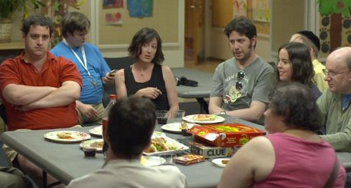 Autistic: The group meets. From the film's Facebook page