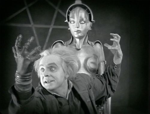 Rudolf Klein-Rogge as Rotwang in Fritz Lang's Metropolis
