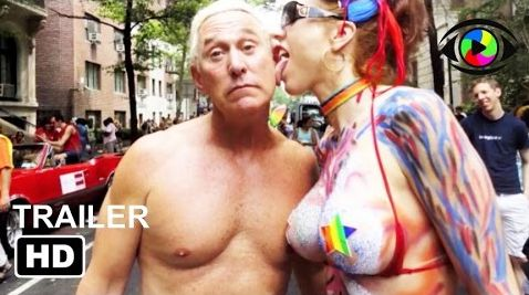 Screenshot: Roger Stone at 2010 gay parade in New York City