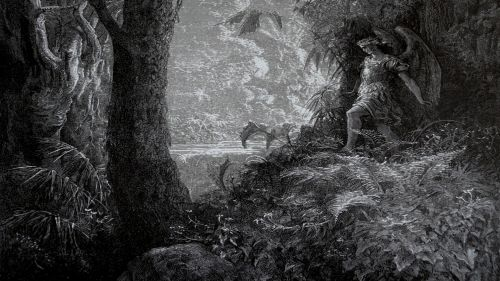 Alien: Covenant: Paradise Lost: engraving by Gustave Doré