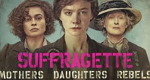 Suffragette poster art