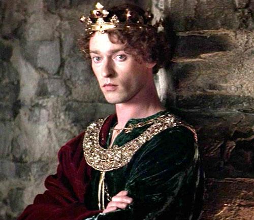 Edward II in Braveheart