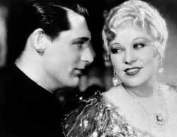 Cary Grant and Mae West in She Done Him Wrong