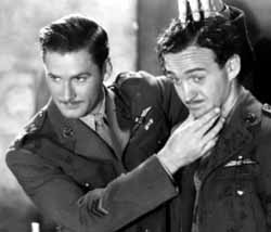 with Errol Flynn