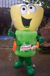 Figure 11a: Knorr mascot