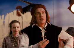 Dana (Steve Coogan) in Elizabethan garb