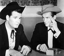 James Garner and Jack Kelly in Maverick