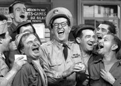 Phil and the boys in The Phil Silvers Show