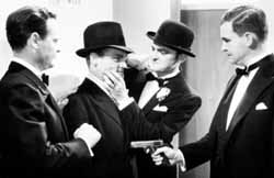 G-Men: Russell Hopton, James Cagney, Edward Pawley, Barton MacLane