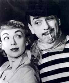 Ernie and Edie from The Ernie Kovacs Show