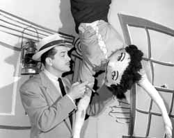 A scene from The Ernie Kovacs Show