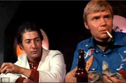 Dustin Hoffman and Jon Voight in Midnight Cowboy