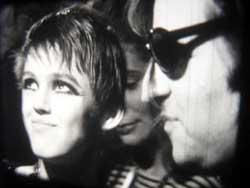Bob Cowan with Edie Sedgwick