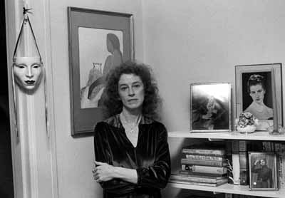 Eaton in her Guerrero St. apt.in San Francisco in 1981