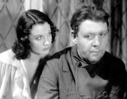 With Charles Laughton in St. Martin's Lane